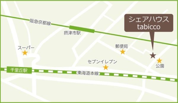 Tabicco map