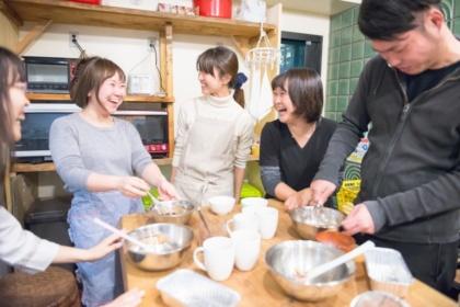 料理が楽しくなる大きな家族の台所