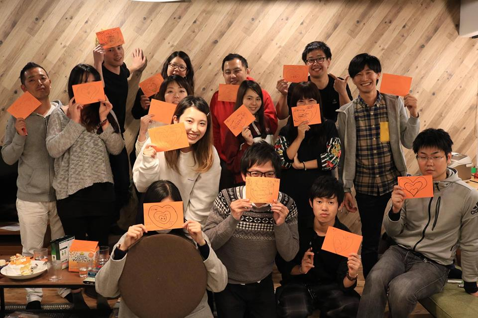 Global HUB 幕張 1st communication day