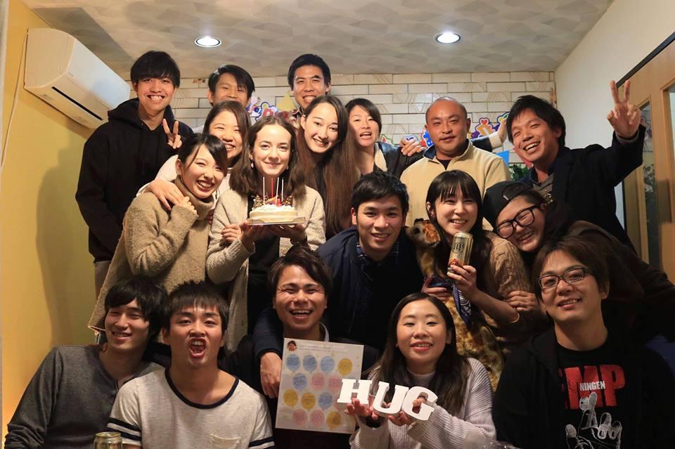 (JP) 誕生日&就職祝いパーティー@hug 池袋