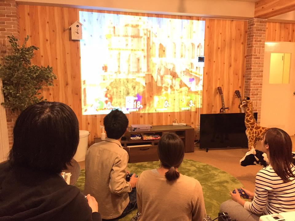 (JP) 雨の日は、大画面でゲーム大会!