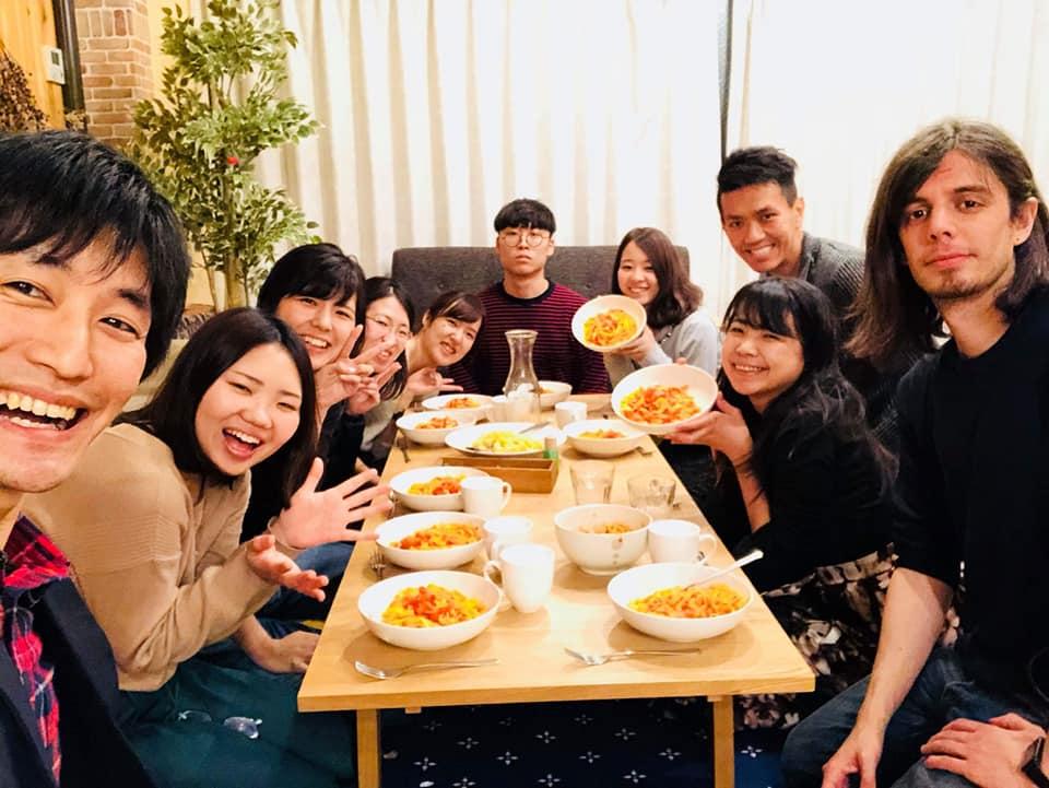 旅する世界のご飯会 in Italy !