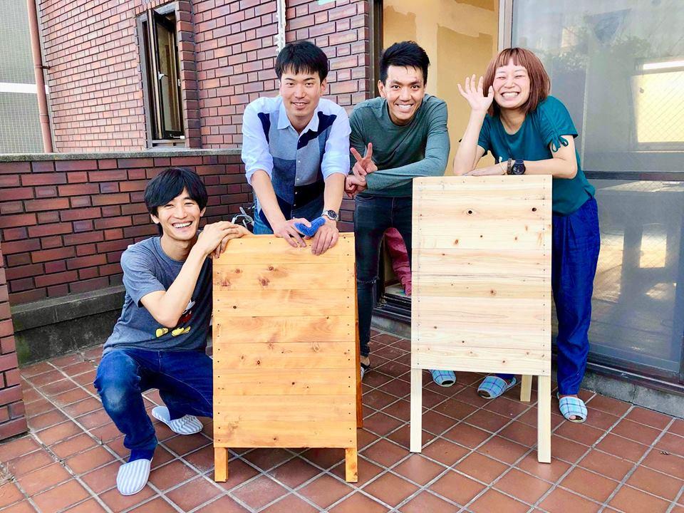 (JP) 【シェアハウスhitotoki OPENまでもう間近】DIYチームのチームワークがすごい!