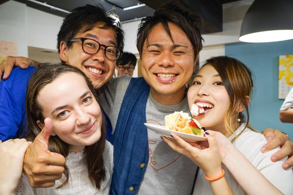 Global HUB Makuhari's July birthday party!
