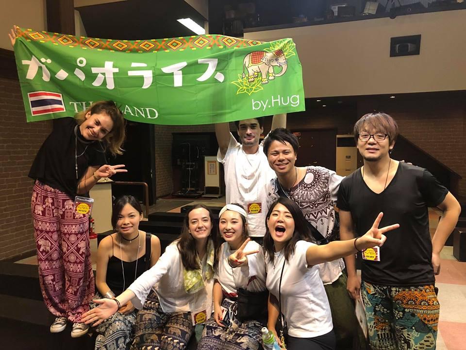 【浅草花やしき・おとなの夏祭り】<br>HUG池袋のガパオライス♪
