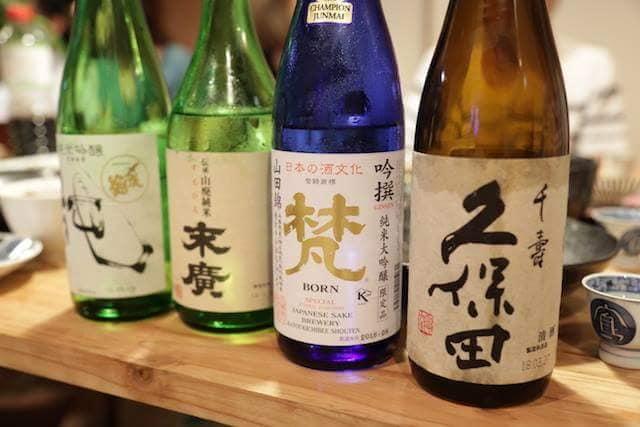 今夜はー?日本酒飲まnight!