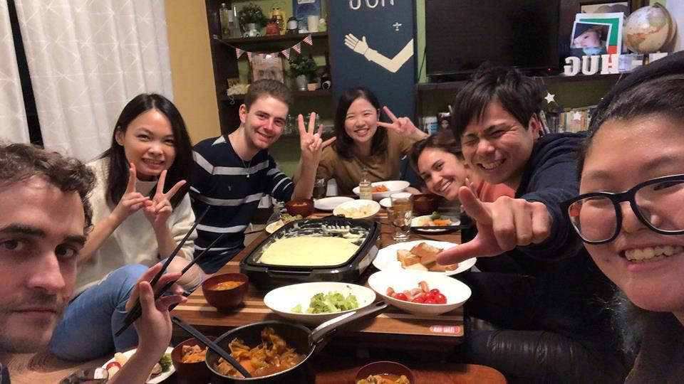 (JP) みんなでぎゅっと集まって♪<br>秋の夜のご飯会〜チーズフォンデュ〜<br>@hug 池袋
