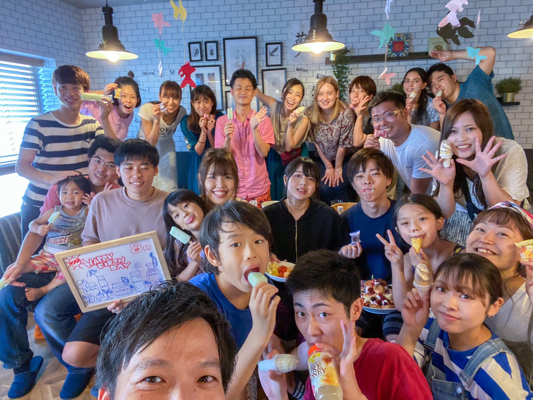 毎月のお誕生日会の楽しみ方〜多世代シェアハウスHASH196編〜