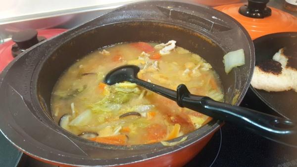 お味噌汁鍋